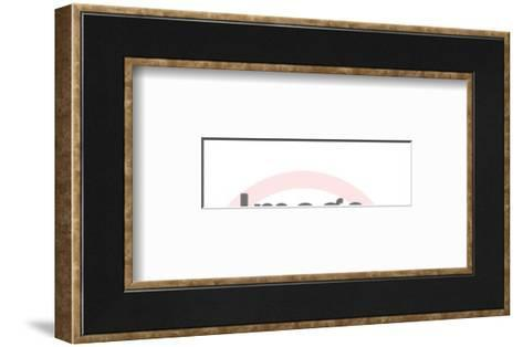 World-Pop Ink - CSA Images-Framed Art Print