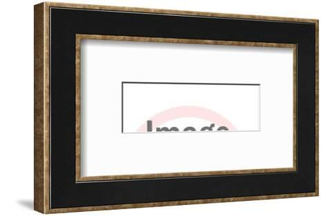 Yell-Pop Ink - CSA Images-Framed Art Print