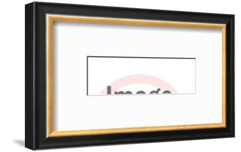 Tints Hair-Pop Ink - CSA Images-Framed Art Print