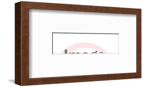 Dennis-Pop Ink - CSA Images-Framed Art Print