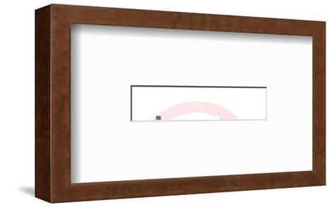 Tongue-Pop Ink - CSA Images-Framed Art Print