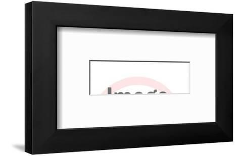 College-Pop Ink - CSA Images-Framed Art Print