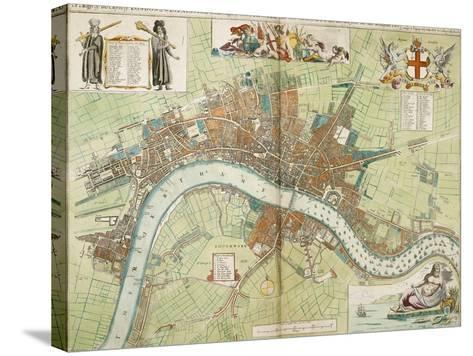 London and Westminster--Stretched Canvas Print