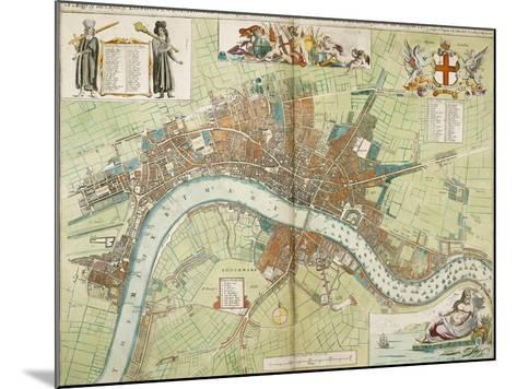 London and Westminster--Mounted Giclee Print