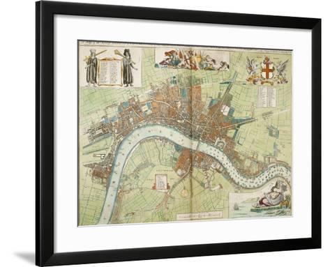 London and Westminster--Framed Art Print