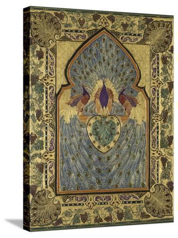 Twentieth Century English Binding by Stanley Bray-Francis Sangorski-Stretched Canvas Print