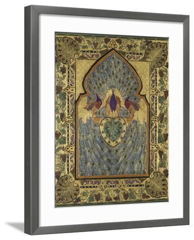 Twentieth Century English Binding by Stanley Bray-Francis Sangorski-Framed Art Print