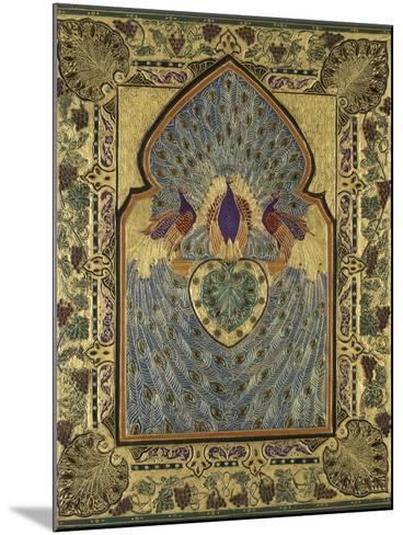 Twentieth Century English Binding by Stanley Bray-Francis Sangorski-Mounted Giclee Print