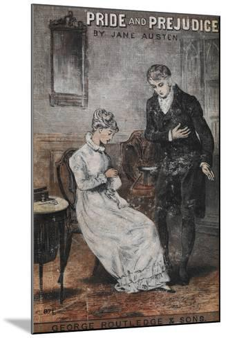 Front Cover To the Novel, 'Pride and Prejudice' by Jane Austen--Mounted Giclee Print