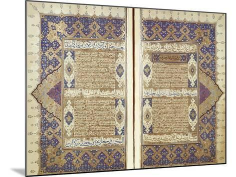 Pages From a Qur'an--Mounted Giclee Print