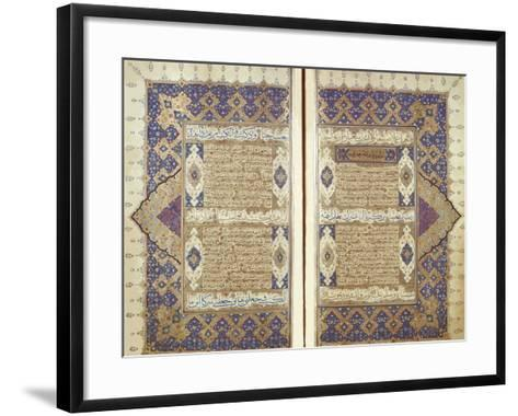 Pages From a Qur'an--Framed Art Print