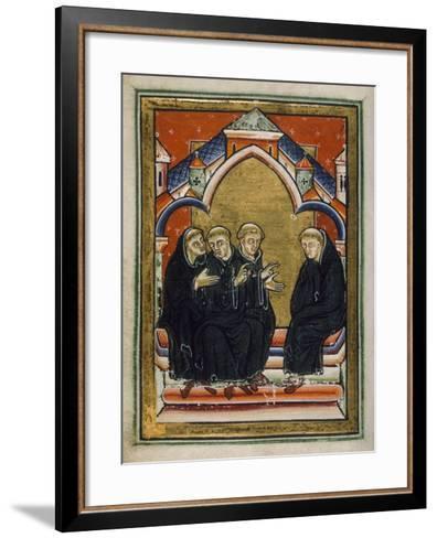 St. Cuthbert Elected Bishop--Framed Art Print