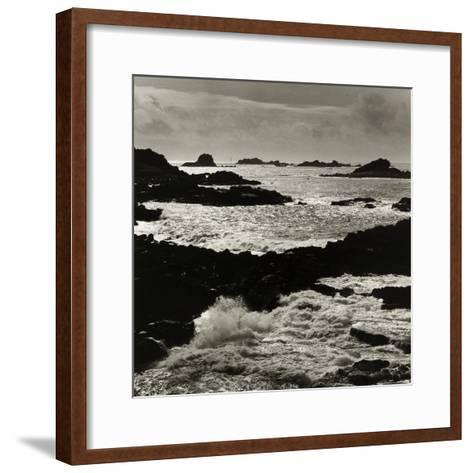 Hell Bay and Bishops Rock Lighthouse, Bryher Scilly Isles-Fay Godwin-Framed Art Print