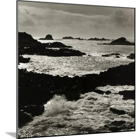 Hell Bay and Bishops Rock Lighthouse, Bryher Scilly Isles-Fay Godwin-Mounted Giclee Print