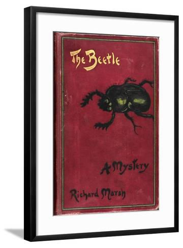 Illustrated Front Cover For a Suburban Horror Story About a Sexually Rapacious Insect Monster-Richard Marsh-Framed Art Print