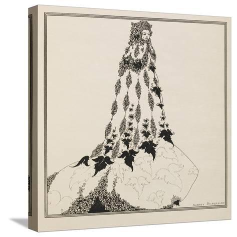 A Suggested Reform in Ballet Costume-Aubrey Beardsley-Stretched Canvas Print