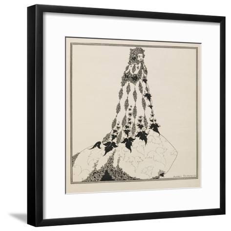A Suggested Reform in Ballet Costume-Aubrey Beardsley-Framed Art Print