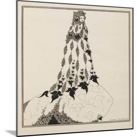 A Suggested Reform in Ballet Costume-Aubrey Beardsley-Mounted Giclee Print