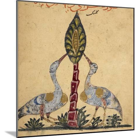Two Cranes-Aristotle ibn Bakhtishu-Mounted Giclee Print
