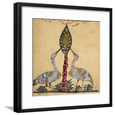 Two Cranes-Aristotle ibn Bakhtishu-Framed Art Print