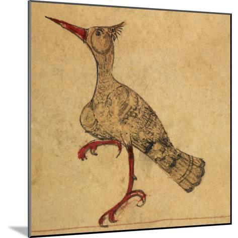 Hoopoe-Aristotle ibn Bakhtishu-Mounted Giclee Print