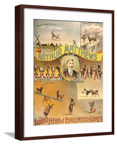 Canterbury Music Hall-Henry Evanion-Framed Art Print