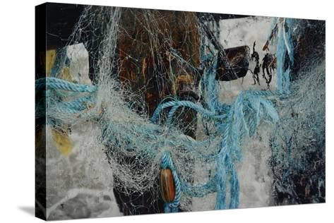 Fishing Nets Tangled Together-Fay Godwin-Stretched Canvas Print