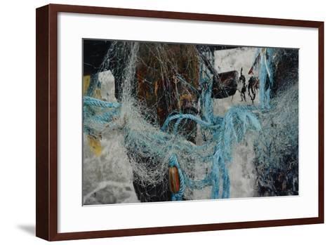Fishing Nets Tangled Together-Fay Godwin-Framed Art Print