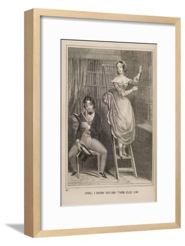 Shall I Show You ..--Framed Art Print
