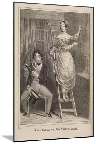 Shall I Show You ..--Mounted Giclee Print