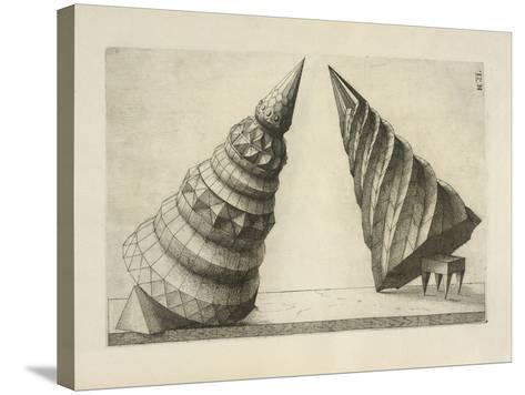 Illustration Of Sculpture-Wenzel Jamnitzer-Stretched Canvas Print