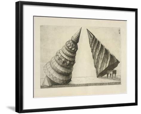 Illustration Of Sculpture-Wenzel Jamnitzer-Framed Art Print
