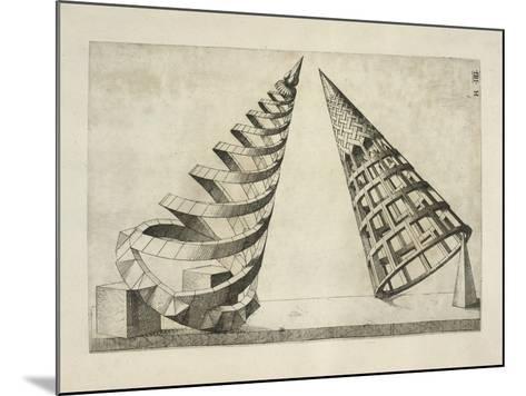 Illustration Of Sculpture-Wenzel Jamnitzer-Mounted Giclee Print