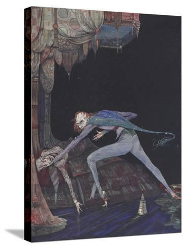 Macabre-Harry Clarke-Stretched Canvas Print