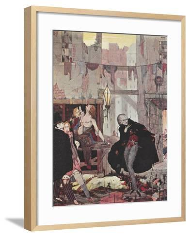 Man Of the Crowd-Harry Clarke-Framed Art Print