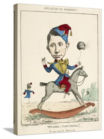 French Caricature - Titi-Louis--Stretched Canvas Print