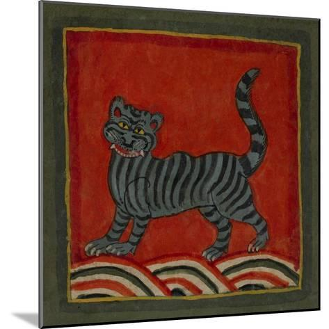 Painting Of a Member Of the Cat Family--Mounted Giclee Print