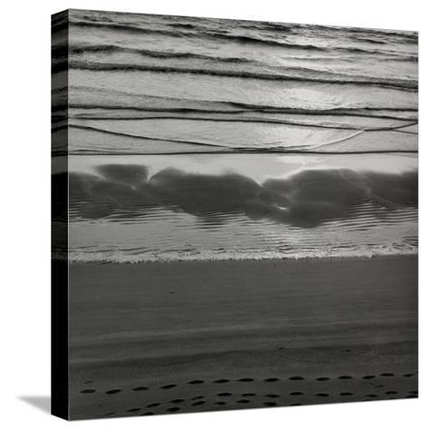 Waves Breaking On Shore-Fay Godwin-Stretched Canvas Print