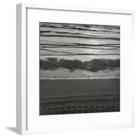 Waves Breaking On Shore-Fay Godwin-Framed Art Print