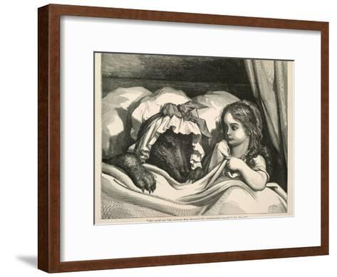 Red Riding Hood-Gustave Dor?-Framed Art Print