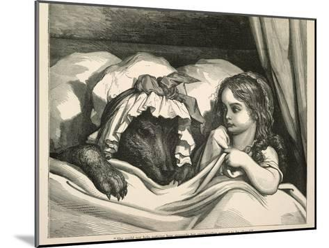 Red Riding Hood-Gustave Dor?-Mounted Giclee Print