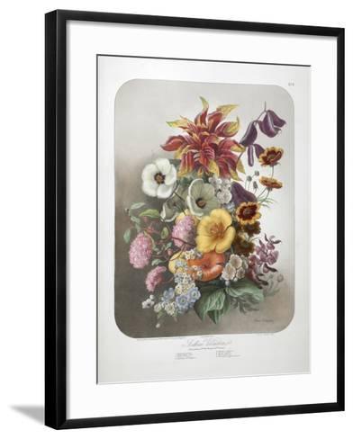 A Bouquet Of Flowers-Elisa Champin-Framed Art Print