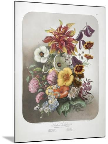 A Bouquet Of Flowers-Elisa Champin-Mounted Giclee Print