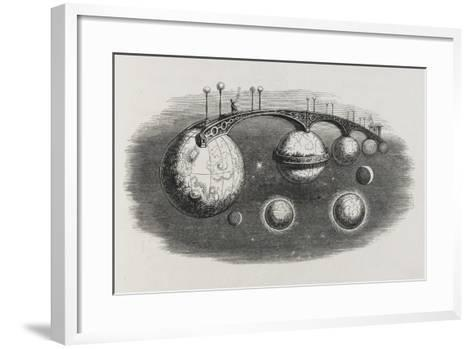 A Bridge Between Planets-Jean Gerard-Framed Art Print
