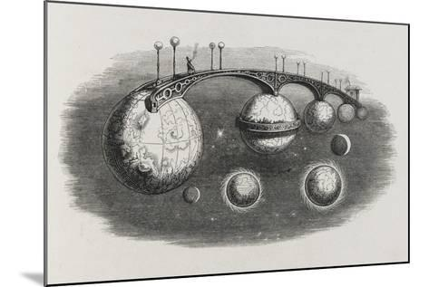 A Bridge Between Planets-Jean Gerard-Mounted Giclee Print