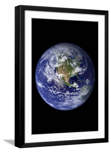Planet Earth from Space (North America)--Framed Art Print