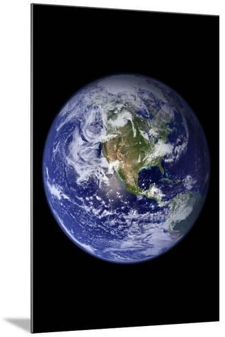 Planet Earth from Space (North America)--Mounted Photo