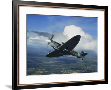 Supermarine Spitfire Mk.XVI Fighter Warbird of the Royal Air Force-Stocktrek Images-Framed Art Print