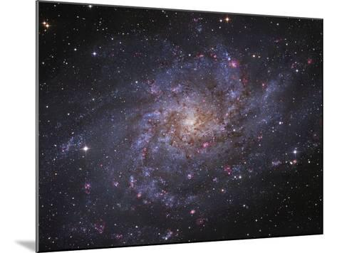Messier 33, Spiral Galaxy in Triangulum-Stocktrek Images-Mounted Photographic Print