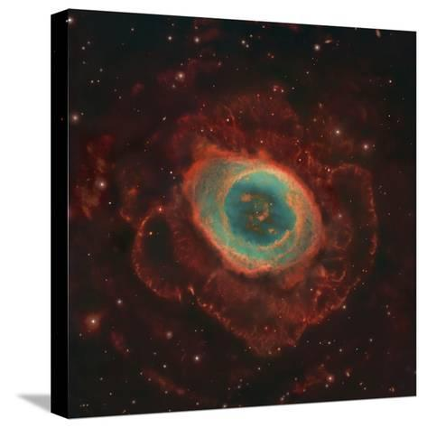 Messier 57, the Ring Nebula-Stocktrek Images-Stretched Canvas Print